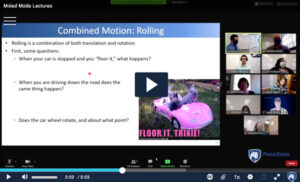 Watch mixed-mode instructional videos in Kaltura